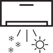 Klimatizace chladí i topí